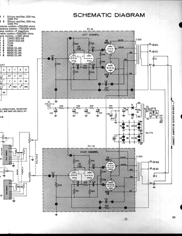 St 120 Amplifier Wiring Diagram - Enthusiast Wiring Diagrams •