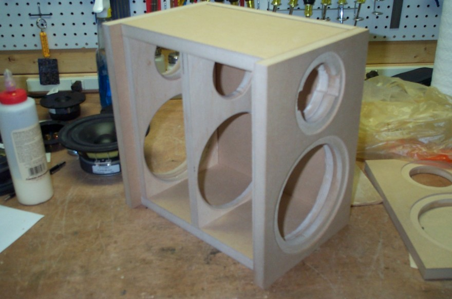 bookshelf speaker cabinet plans
